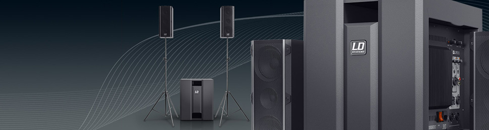 LD SYSTEMS DAVE 8 ROADIE اسپیکر | باند اکتیو