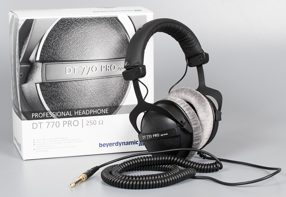 BeyerDynamic DT 770 Pro 250 Ohms هدفون