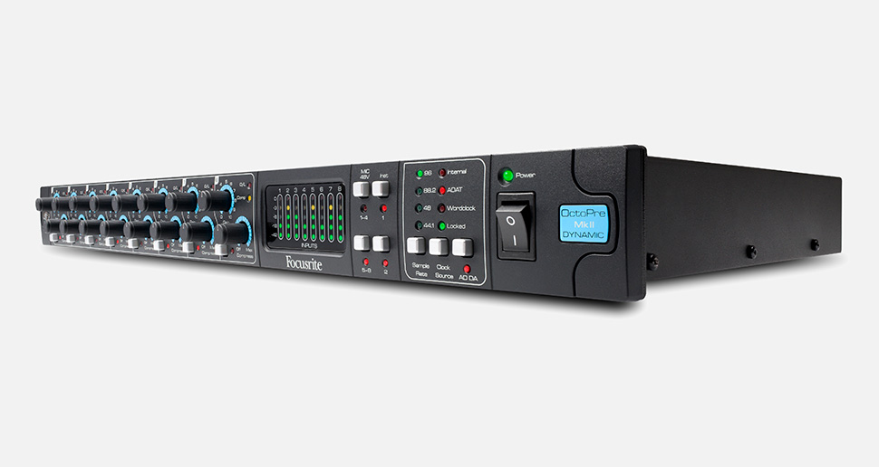 Focusrite OctoPre MKII Dynamic پری آمپ