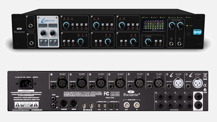 Focusrite Saffire liquid 56 کارت صدا