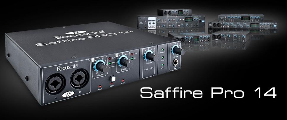 Focusrite Saffire Pro 14 کارت صدا