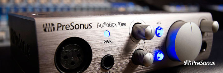 Presonus Audiobox iOne کارت صدا