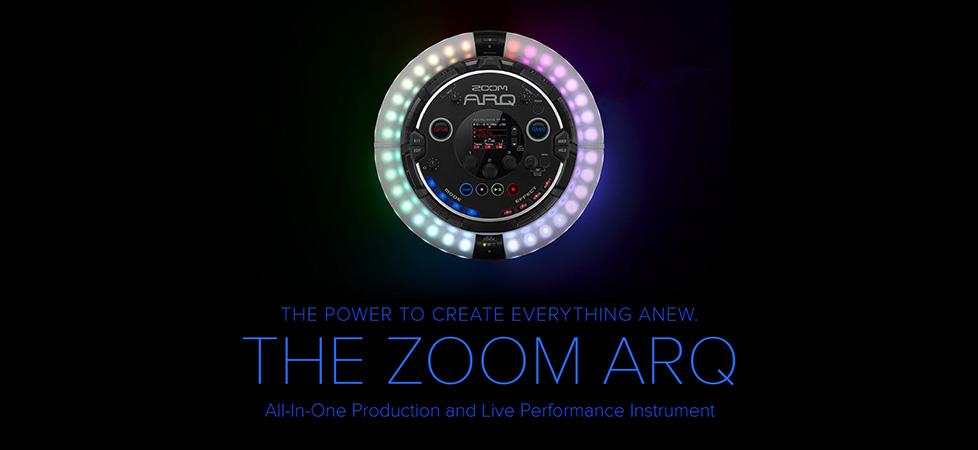 کنترلر، اینترفیس و سینتی سایزر زوم Zoom Arq