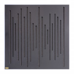 پنل آکوستیک دکونیک Deconik Wave Wood Absorption Black