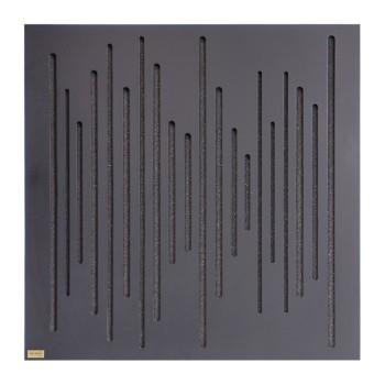 پنل آکوستیک دکونیک Deconik Wave Wood Absorption Black
