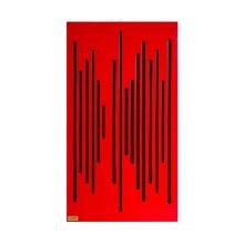 قیمت خرید فروش پنل آکوستیک دکونیک Deconik Wave Wood Alpha Bass Trap Red
