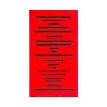 قیمت خرید فروش پنل آکوستیک دکونیک Deconik Wave Wood Bass Trap-Red