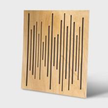 قیمت خرید فروش پنل آکوستیک دکونیک Deconik Wave Wood Diffuser Light Brown