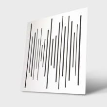قیمت خرید فروش پنل آکوستیک دکونیک Deconik Wave Wood Diffuser White