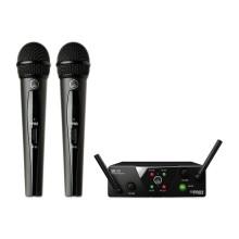 قیمت خرید فروش میکروفن بیسیم ای کی جی AKG WMS 40 MINI2 Dual Vocal Set