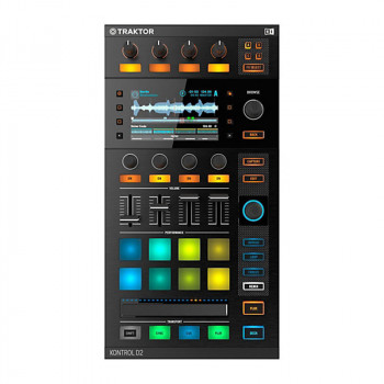 دی جی کنترلر نیتیو اینسرومنت Native Instruments Traktor Kontrol D2