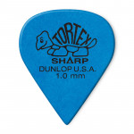 پیک گیتار دانلوپ Dunlop 412R 1.0mm Tortex Sharp Blue Guitar Pick