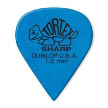 قیمت خرید فروش پیک گیتار دانلوپ Dunlop 412R 1.0mm Tortex Sharp Blue Guitar Pick
