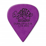 پیک گیتار دانلوپ Dunlop 412R 1.14mm Tortex Sharp Purple Guitar Pick