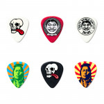 پیک گیتار دانلوپ Dunlop Van Hammersveld Pick TIN Johnny Face JVHPT01M