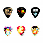 پیک گیتار دانلوپ Dunlop Jimi Hendrix Pick TIN Bold As Love JH-PT02M