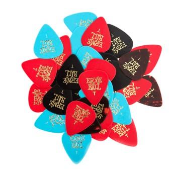پیک گیتار ارنیبال Ernieball Thin Assorted Cellulose Picks