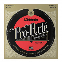 قیمت خرید فروش سیم گیتار کلاسیک داداریو D'Addario EJ45C Pro-Arté Composite Classical Guitar Strings