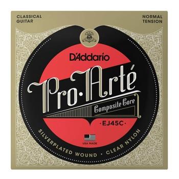 سیم گیتار کلاسیک داداریو D'Addario EJ45C Pro-Arté Composite Classical Guitar Strings