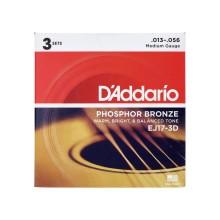 قیمت خرید فروش سیم گیتار آکوستیک داداریو D'Addario EJ17 3D