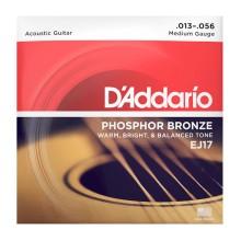 قیمت خرید فروش سیم گیتار آکوستیک داداریو D'Addario EJ17