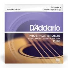 قیمت خرید فروش سیم گیتار آکوستیک داداریو D'Addario EJ26