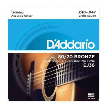 سیم گیتار کلاسیک داداریو D'Addario EJ36