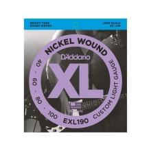 قیمت خرید فروش سیم گیتار بیس داداریو D'Addario EXL-190 40/100