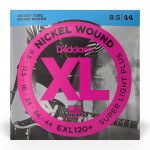 سیم گیتار الکتریک داداریو D'Addario EXL120+ Nickel Wound Electric Strings -.0095-.044 Super Light Plus