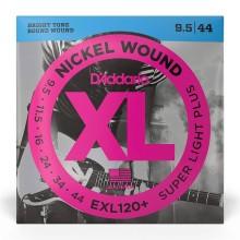 قیمت خرید فروش سیم گیتار الکتریک داداریو D'Addario EXL120+ Nickel Wound Electric Strings -.0095-.044 Super Light Plus
