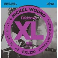 قیمت خرید فروش سیم گیتار الکتریک داداریو D'Addario EXL120