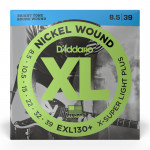 سیم گیتار الکتریک داداریو D'Addario EXL130+ Nickel Guitar Strings 8.5-39 X-Super Light Plus