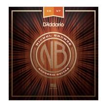 قیمت خرید فروش سیم گیتار آکوستیک داداریو D'Addario NB1047 Nickel Bronze Acoustic Strings