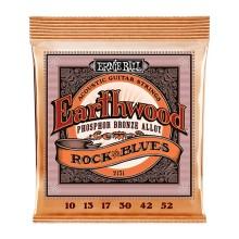 قیمت خرید فروش سیم گیتار آکوستیک ارنی بال Ernie Ball 2151 Earthwood Rock & Blues Phosphor Bronze Acoustic Strings