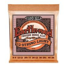 قیمت خرید فروش سیم گیتار آکوستیک ارنی بال Ernie Ball 2153 Earthwood Phosphor Bronze 12-String Acoustic Strings