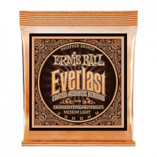قیمت خرید فروش سیم گیتار آکوستیک ارنی بال Ernie Ball 2546 Everlast Coated Phosphor Bronze Medium Light Acoustic Strings
