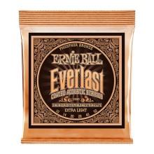 قیمت خرید فروش سیم گیتار آکوستیک ارنی بال Ernie Ball 2550 Everlast Coated Phosphor Bronze Extra Light Acoustic Strings
