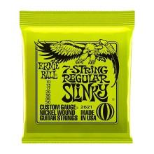 قیمت خرید فروش سیم گیتار الکتریک ارنی بال Ernie Ball 2621 Regular Slinky Nickel Wound Electric Strings