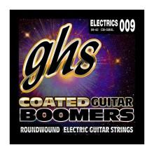 قیمت خرید فروش سیم گیتار الکتریک جی اچ اس GHS Coated Boomers Electric Guitar Strings 09-42