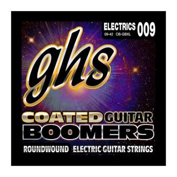 سیم گیتار الکتریک جی اچ اس GHS Coated Boomers Electric Guitar Strings 09-42