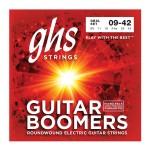 سیم گیتار الکتریک جی اچ اس GHS GBL Guitar Boomers Electric Guitar Strings 09-42