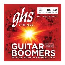 قیمت خرید فروش سیم گیتار الکتریک جی اچ اس GHS GBL Guitar Boomers Electric Guitar Strings 09-42