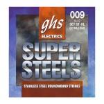 سیم گیتار الکتریک جی اچ اس GHS GBL super steels electric Guitar strings 09-42