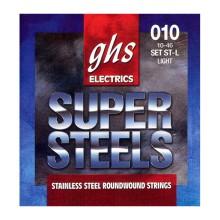 قیمت خرید فروش سیم گیتار الکتریک جی اچ اس GHS GBL Super Steels Electric Guitar Strings 10-46