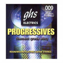 قیمت خرید فروش سیم گیتار الکتریک جی اچ اس GHS Progressives Electric Guitar Strings 09-42