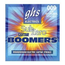 قیمت خرید فروش سیم گیتار الکتریک جی اچ اس GHS Sub-Zero Boomers Electric Guitar Strings 09-42