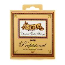 قیمت خرید فروش سیم گیتار کلاسیک لابلا La Bella 10PH Professional High Tension Silver