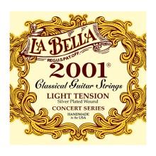 قیمت خرید فروش سیم گیتار کلاسیک لابلا La Bella 2001 Classical – Light Tension