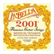 قیمت خرید فروش سیم گیتار کلاسیک لابلا La Bella 2001 Flamenco-Medium Tension