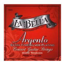 قیمت خرید فروش سیم گیتار کلاسیک لابلا La Bella SH Argento Extra Fine Silver Plating – Hard Tension